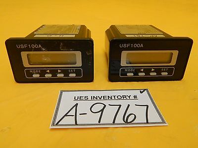 Tokyo Flow Meter USF100A-K15EP Ultrasonic Flow Meter USF100A Honda Lot of 2 Used