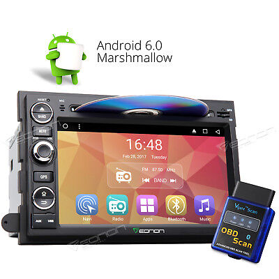 """Fits Ford F150 OBD2 Android 6.0 7"""" 2DIN DVD Player GPS BT WiFi Car Stereo DVR 8"""