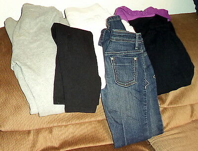 Lot of 5 Pairs of Girls Pants Childrens Place, GAP & More Size 14