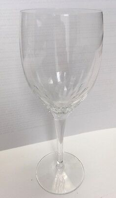 """ORREFORS Prelude Crystal Claret Wine Glass MINT CONDITION 7 1/4"""" Tall MINT"""