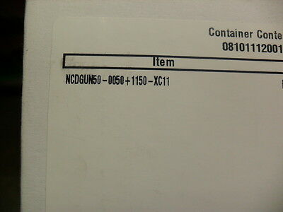 SMC NCDGUN 50-0050+1150-XC11 Pneumatic Cylinder  Factory sealed Box New