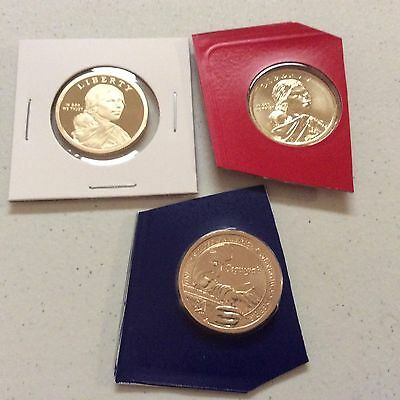 2017 Sac Sacagawea S Proof and P-D from mint set