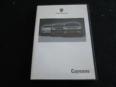 2004 Porsche New Cayenne V6, S, Turbo Sales DVD Brochure 6 Languages - Euro