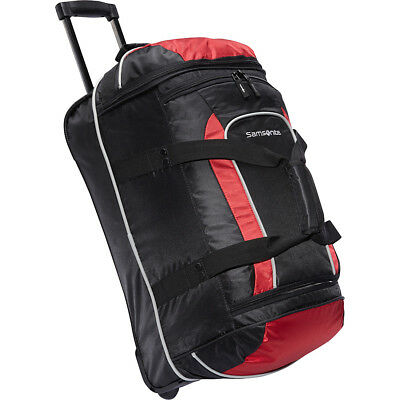 "Samsonite Andante Wheeled Duffel Bag - 22"" 2 Colors Travel Duffel NEW"