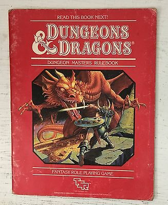 Dungeons & Dragons 1983 Dungeon Masters Rulebook