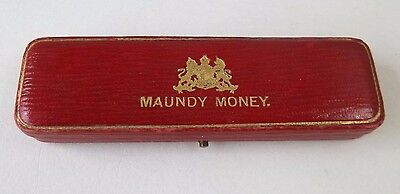 Vintage Set of 4 Maundy Money British Coins in Original Case 1926  - FREE SHIP