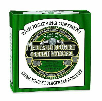 J.R. Watkins Menthol Camphor Rub Ointment Amazing  Natural Results Pain Cold