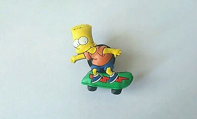 Bart Simpson Shoe Button Charm for Crocs NEW