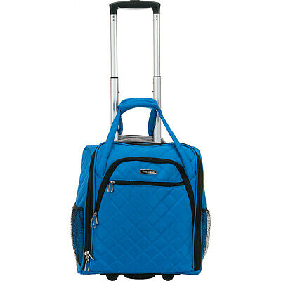 Rockland Luggage Wheeled Underseat Carry-On 8 Colors Softside Carry-On NEW