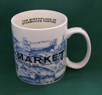 Starbucks PIKE PLACE MARKET Seattle 2005 Coffee Mug