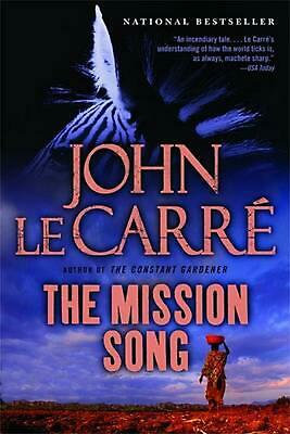 The Mission Song by John Le Carre (English) Paperback Book Free Shipping!