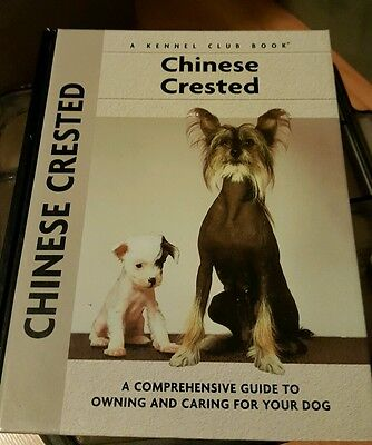 Set of 2 chinese crested dog books - brand new