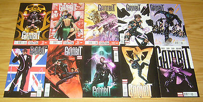 Gambit #1-17 VF/NM complete series - marvel comics - x-men spin-off set lot 2012