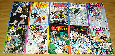 John Byrne's Next Men #0 & 1-20 & 22-30 VF/NM near complete series - dark horse
