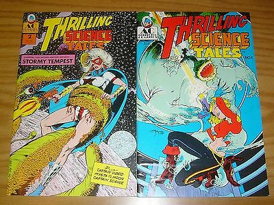 Thrilling Science Tales #1-2 VF/NM complete series - ac comics - mike kaluta