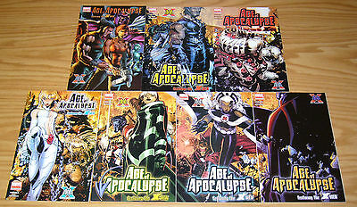 X-Men: Age of Apocalypse #1-6 VF/NM complete series + one-shot - chris bachalo