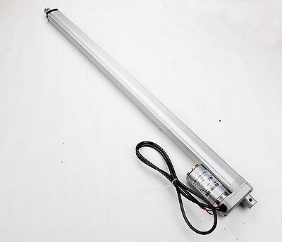 "DC12V Linear Actuator Motor 24 "" 600mm Stroke 750N 10mm/s Heavy Duty For Autos"