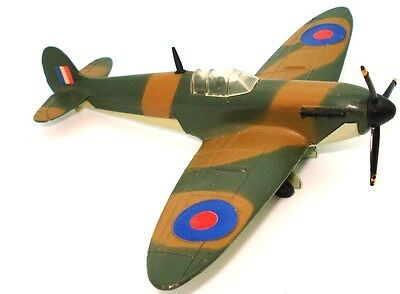 Dinky No. 719 Spitfire Fighter Plane W.w.ii - V.n. Mint  Rare!