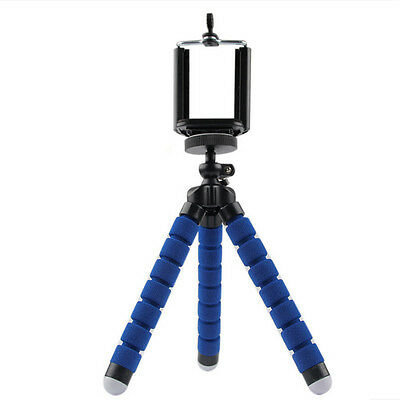 1pc Cell Phone Camera Stand Clip Holder Mount Flexible Tripod Universal