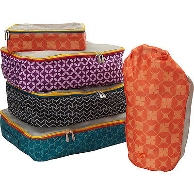 Lug Roly Poly Packing Kit - Assorted Colours Travel Organizer NEW