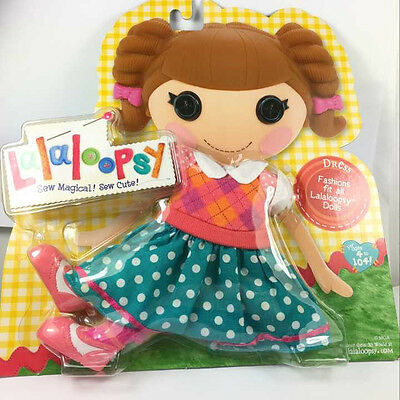 Fashion Dress Suit & Shoes Lalaloopsy Full Size Doll Outfit Clothes Dress Ca193