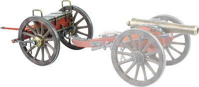 Denix Civil War Miniature 07492 Limber Replica Compatible Civil War Cannon 12""