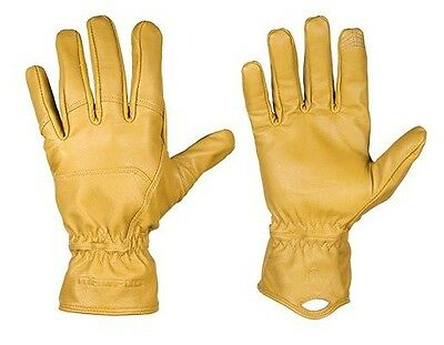 Magpul MAG854 Men's Tan Leather Core Ranch Gloves - Size Medium