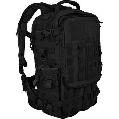 Hazard4 BKP-2NDF-Black SecondFront Rotatable Backpack Black
