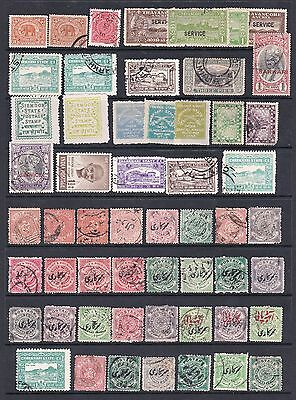 Clearout Selection of India Indian States Stamps Used Various states
