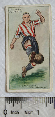 1928 Players Footballers No. 21 A. E. M. Keeping. Southampton