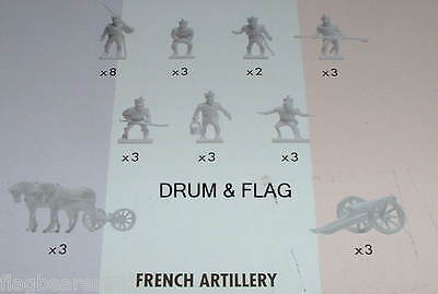 Napoleonic French Artillery. Airfix Battle Of Waterloo. 1/72 Scale