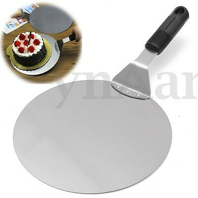 Stainless Steel Pizza Peel Bakers Paddle Spatula Stone Tray Pan Transfer Tool