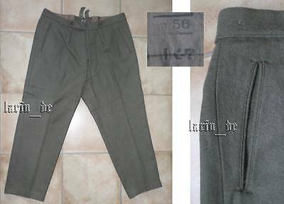 frühe DDR NVA 1967 Deutsche Armee - Uniform- Hose m56 East german army trousers