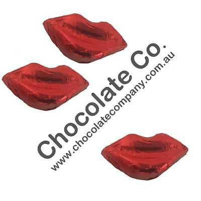 1kg  CHOCOLATE LIPS IN 100% CADBURY WEDDINGS, GIFTS, BOMBONNIERE, CHRISTENINGS