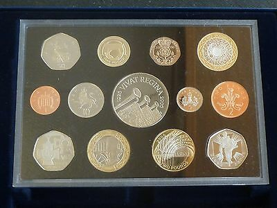 2006 Royal Mint UK Proof 13 Coin Set Includes Commemoratives £5 down to 1p + COA