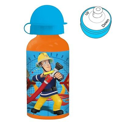 Fireman Sam - Children Aluminum Bottle Sport Bottle 400 ml