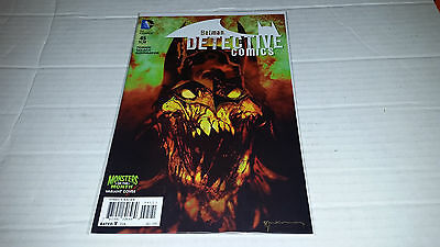 Detective Comics # 45 The New 52! (DC, 2015) Monsters of the Month Variant