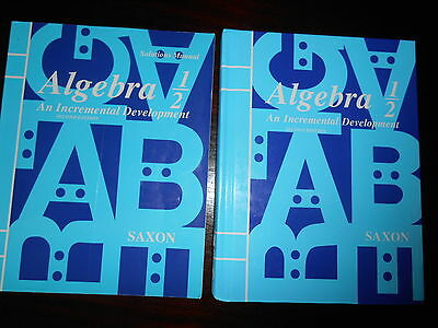 Saxon Algebra 1: Homeschool Kit - 3 books. Saxon Algebra (2008, Hardcover)