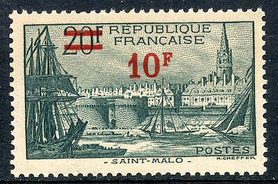 Stamp / Timbre France Neuf N° 492 **  Port De Saint Malo