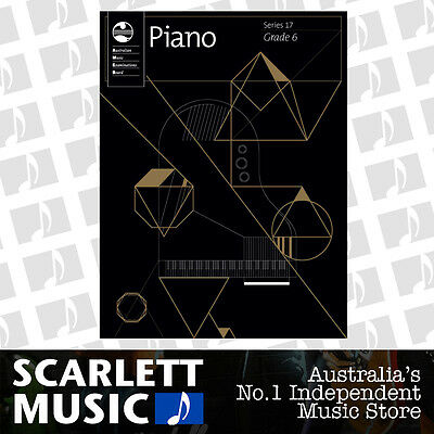 AMEB Piano Series 17 Grade 6 Book *BRAND NEW*