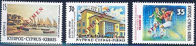 Cyprus Europa  & Soccer World Cup 1998 Specimen Overprints  Mint Nh
