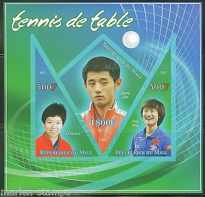 Mali 2013 Table Tennis  Ping Pong Sheet   Imperforate  Mint Nh