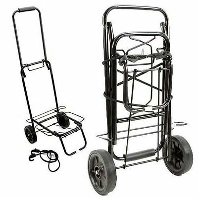 Folding Compact Fishing Trolley Sack Truck For Festivals Camping Holds Up To 35K