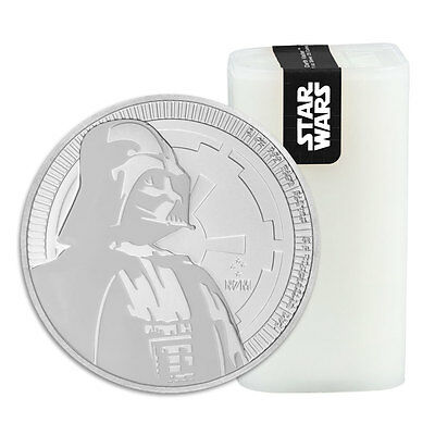 Roll of 25 - 2017 Niue 1 oz. Silver Star Wars - Darth Vader $2 BU Coin SKU47490