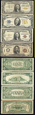 Lot Of 4 Hawaii And North Africa Notes- Scarce- No Reserve