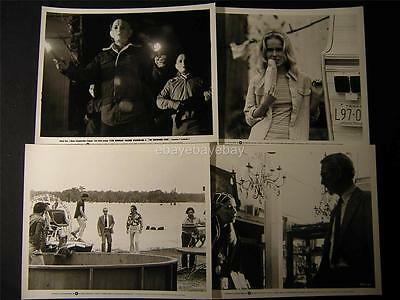 '75 Paul Newman Joanne Woodward The Drowning Pool VINTAGE 7 MOVIE PHOTO LOT 946Q