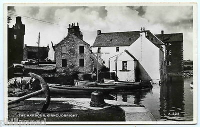 KIRKCUDBRIGHT HARBOUR RP BY HENDERSON c1950s [A694