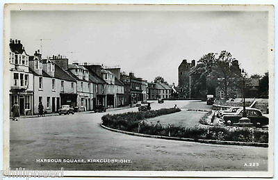 KIRKCUDBRIGHT HARBOUR SQUARE RP BY HENDERSON c1950s [A695