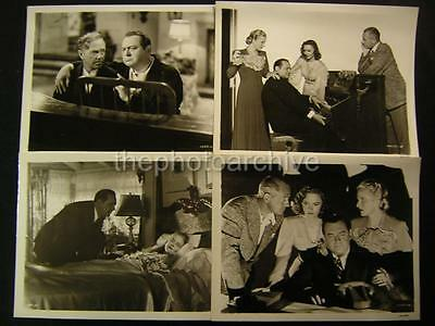 40s Donna Reed Eyes In The Night VINTAGE 4 Movie PHOTO LOT 245L
