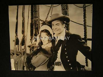 1940 Victor Mature Louise Platt Captain Caution VINTAGE DBW Movie PHOTO 301P